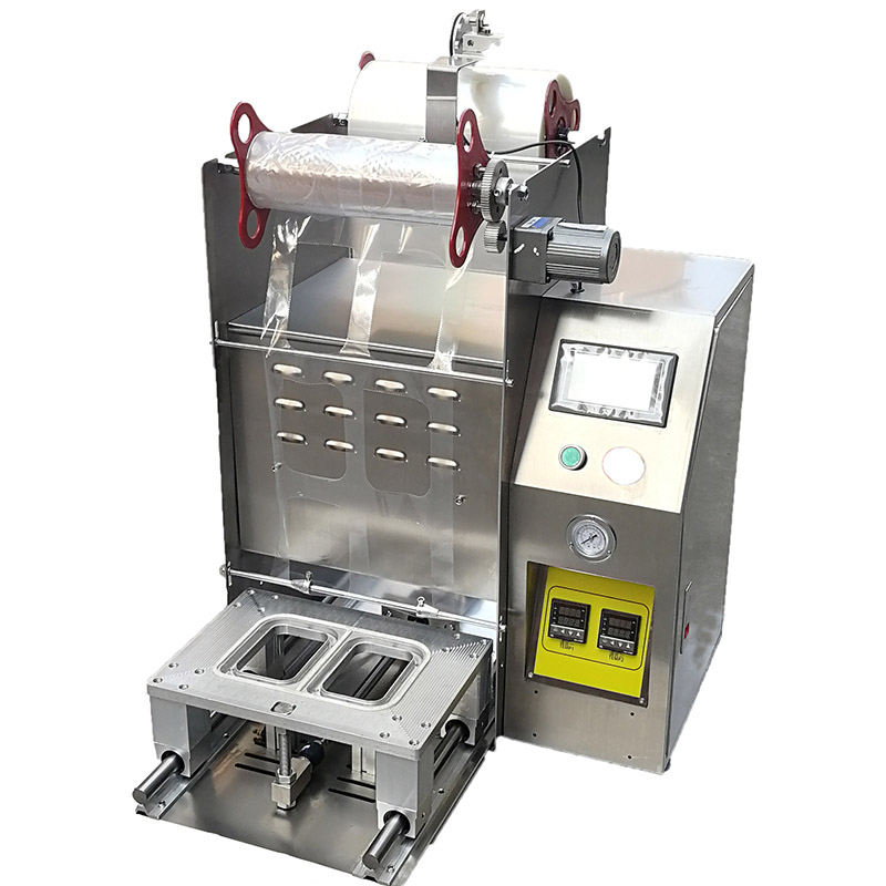 sauce container sealing machine