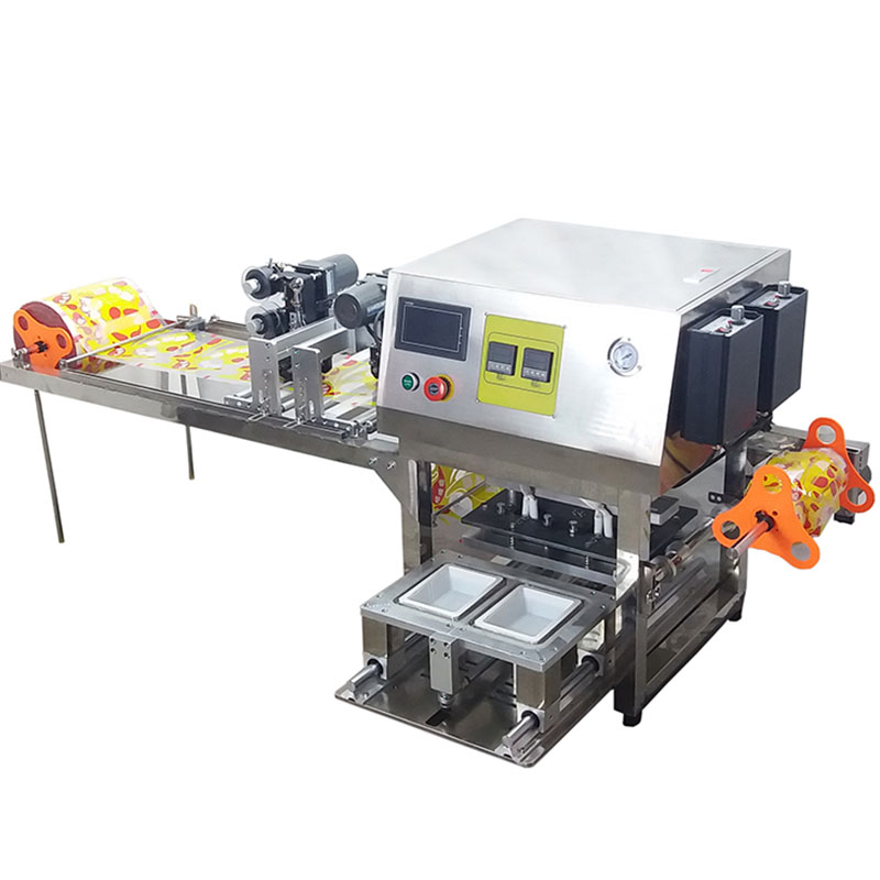 container sealing machine with date coder