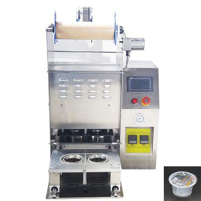 Custom plastic cup sealing machine