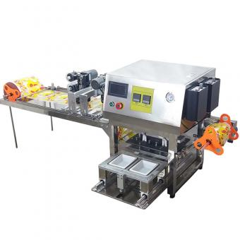 tray sealing film machine